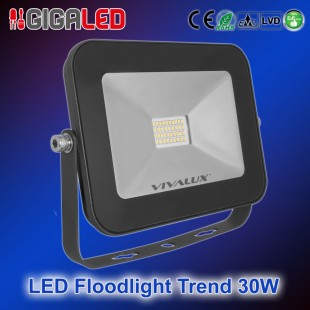 LED Floodlight Slim TREND 30W B
