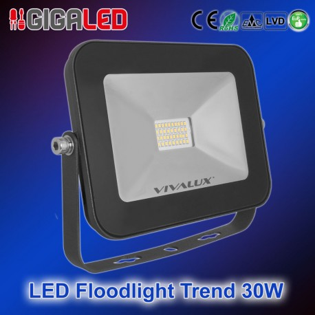 LED Προβολέας Slim TREND 30W B