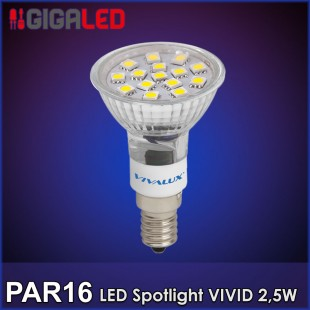 LED Spotlight VIVID Par 16 2.5W VL