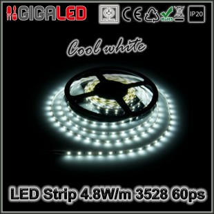 Led Ταινία 4.8W Strip-SMD3528 60 Leds IP20