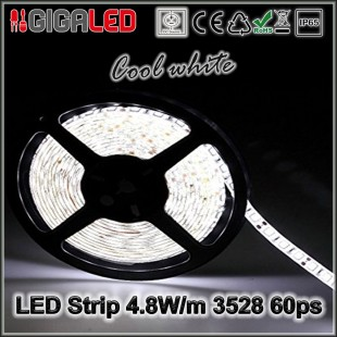 Led Strip 4.8W -SMD3528 60 Leds  IP65