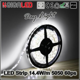 Led Ταινία 14.4W Strip-SMD5050 60 Leds IP20
