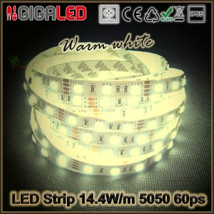 Led Ταινία 14.4W Strip-SMD5050 60 Leds IP65