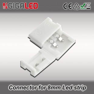 Connector 8mm for Monochrome Led Strips