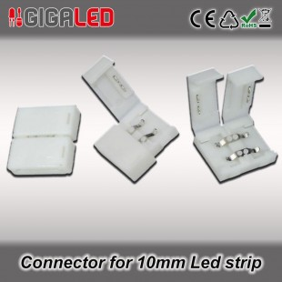 Connector 10mm for Monochrome Led Strips