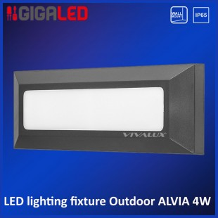 Led lighting fixture outdoor IP65 4W Vivalux