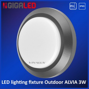 Led lighting fixture outdoor IP65 3W Vivalux