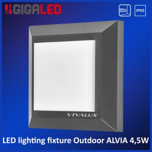 Led lighting fixture outdoor IP65 4.5W Vivalux