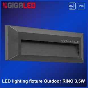 Led lighting fixture outdoor IP65 3.5W Vivalux