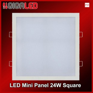 LED Mini panel 24W SQUARE