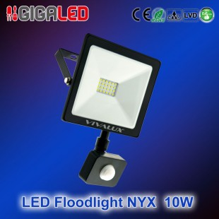 LED floodlight NYX 10W + SENSOR