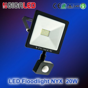 LED floodlight NYX 20W + SENSOR