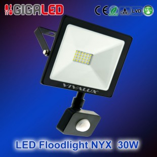 LED floodlight NYX 30W + SENSOR