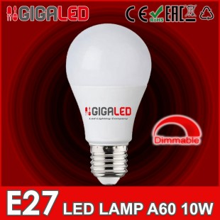 LED Λάμπα 10W E27 Dimmable