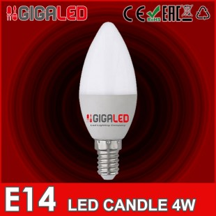 LED Lamp Candle 4W E14 GL
