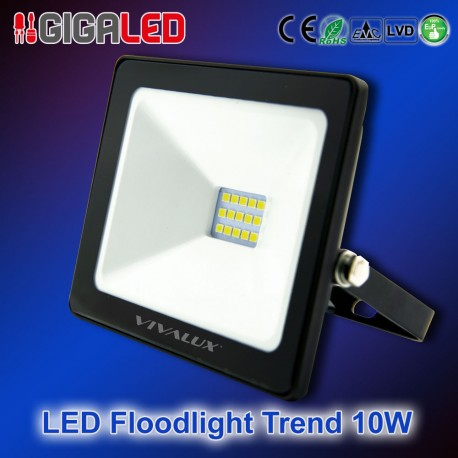 LED Προβολέας Slim TREND 10W B