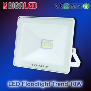 LED Floodlight Slim TREND 10W W