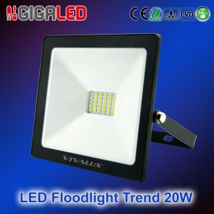 LED Floodlight Slim TREND 20W B