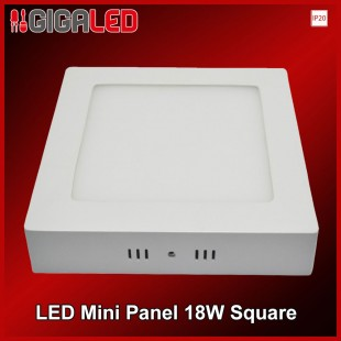 LED Mini panel 18W SQUARE