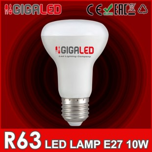 LED Lamp 10W E27/R63 GL