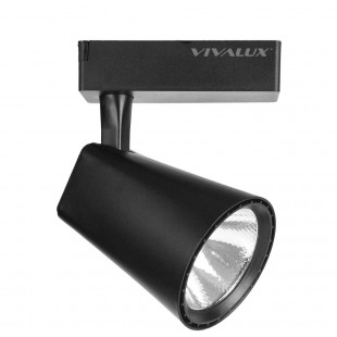 LED Track Light CLUB 20W Black Vivalux