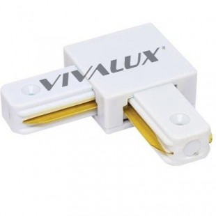 Connector Link Corner for 2 Cable Vivalux