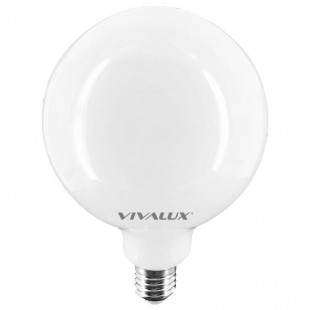 LED Λάμπα G95 Flick Opal E27 10.6W Full Glass Vivalux