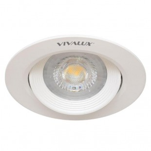 LED Spotlight for ceiling mounting RAYA 5W 38° White Vivalux