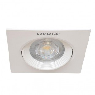 LED Spotlight for ceiling mounting HORN Square 5W 38° White Vivalux