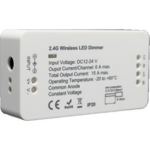Wireless receiver Dimmable for LED Strip 12V DC