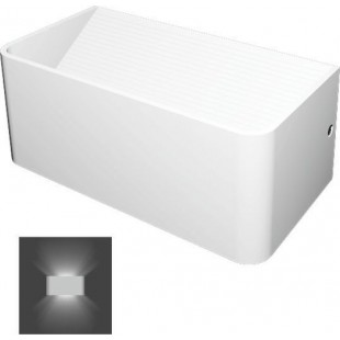 LED Wall lighting White Up -Down 7W 2x60°