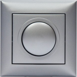 Dimmer for LED Lamps Recessed 200Watt Silver
