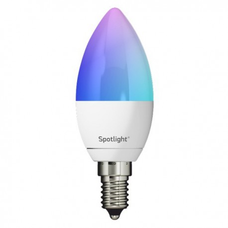 LED Λάμπα E14 5.5W Smart Wifi RGB+W Dimmable