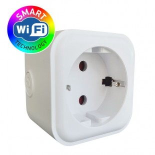 Smart Socket - White Power Adapter with Surge Protection