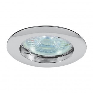 Base for Spot  Round Recessed Fixed Chrome RING SL514 C