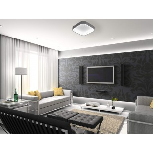 LED ceiling lamp LAS PALMAS Grey 50W with color changing and dimmable IP20