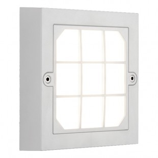 Led lighting fixture outdoor Square White  IP65 6W